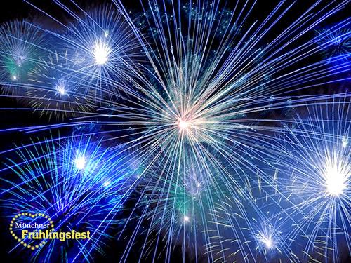 Feuerwerk frühlingsfest 2020 münchen